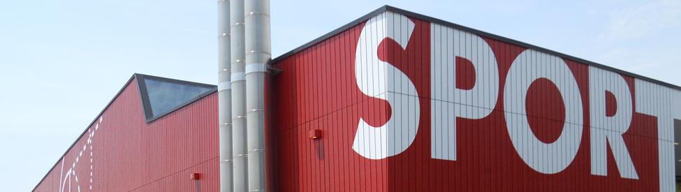 Lames extérieures - Salle de sport triple à Estavayer-le-Lac