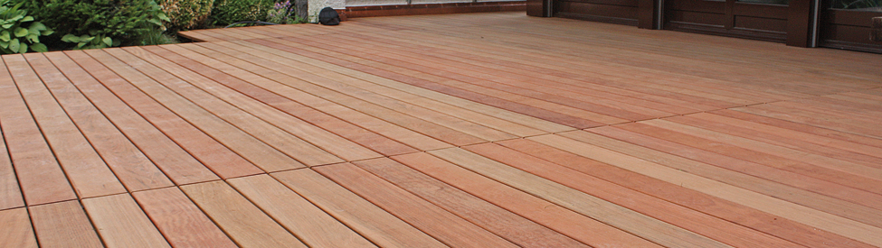 Planchers, decks - Jatoba